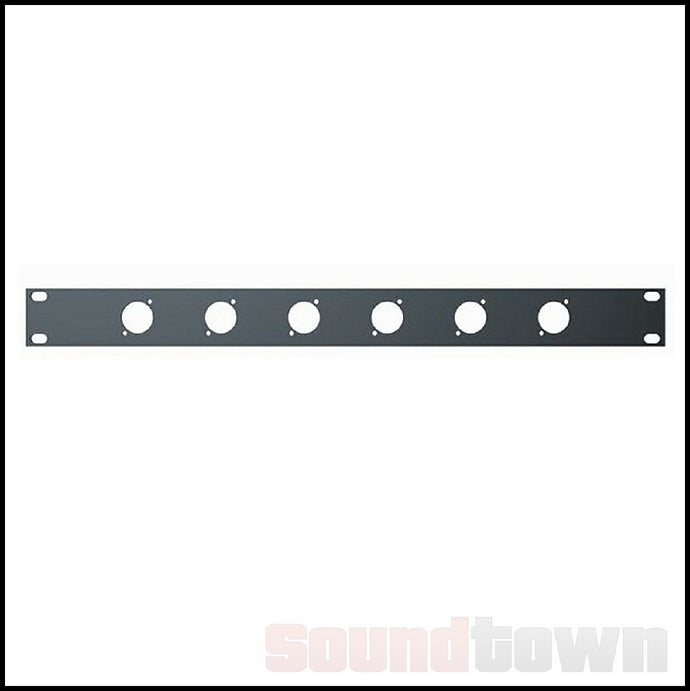 QUIKLOK RS290 RACK PANEL 1RU 6 HOLES
