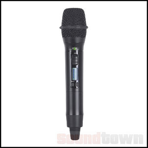 PARALLEL AUDIO HH6100 HANDHELD WIRELESS TRANSMITTER