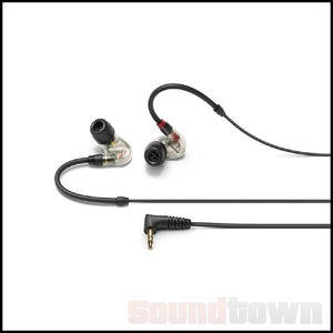 SENNHEISER IE400 PRO DYNAMIC IN-EAR MONITORING HEADPHONES - CLEAR