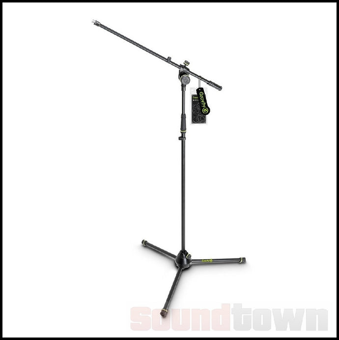 GRAVITY TMS4321B TOURING SERIES TRIPOD MICROPHONE STAND STANDARD BOOM