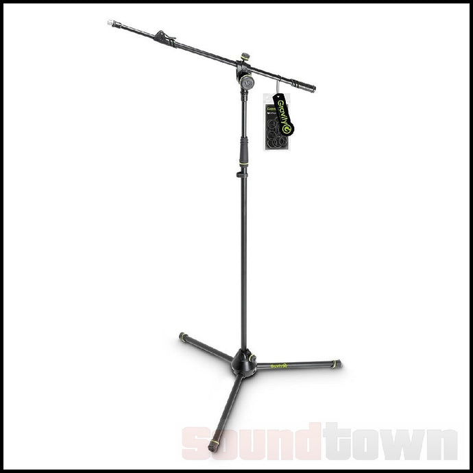 GRAVITY TMS4322B TOURING SERIES TRIPOD MICROPHONE STAND TELESCOPIC BOOM