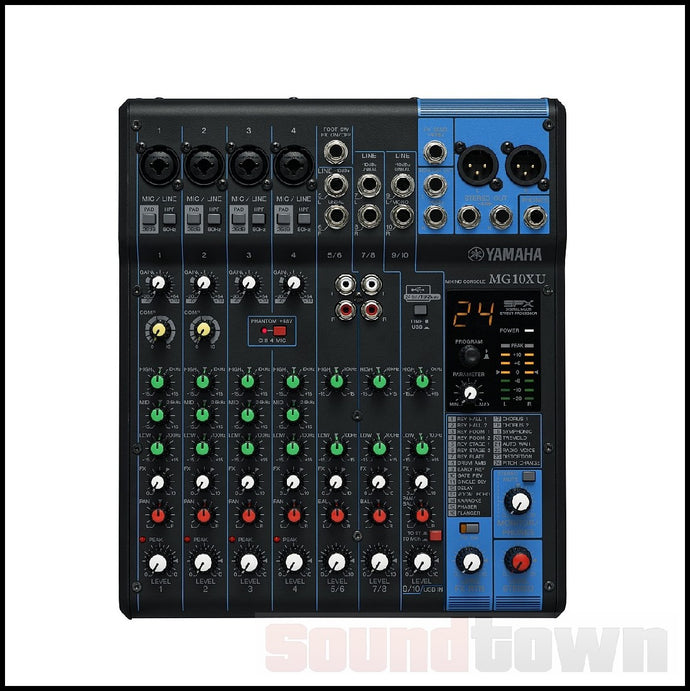 YAMAHA MG10XU ANALOGUE MIXER