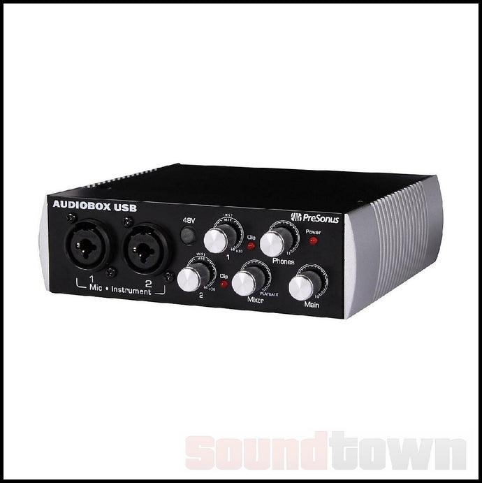 PRESONUS AUDIOBOX USB 96 BLACK ANNIVERSARY EDITION AUDIO INTERFACE