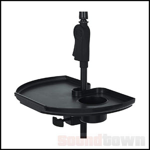 GATOR MICROPHONE STAND TRAY FOR PHPONE AND DRINK