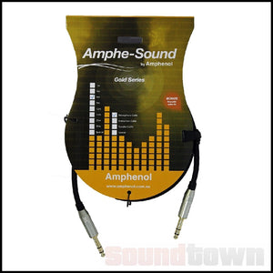 AMPHESOUND GD3838A001 1M BALANCED LEAD TRS-TRS