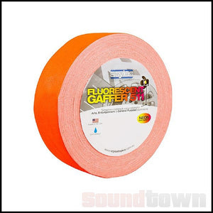 STYLUS 511 FLURO/NEON GAFFER TAPE 48MM X 45M ORANGE