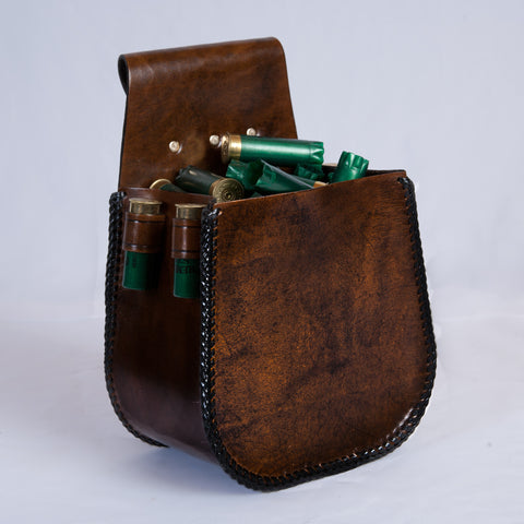 50 Hull Pouch, Belt Loop - Antique