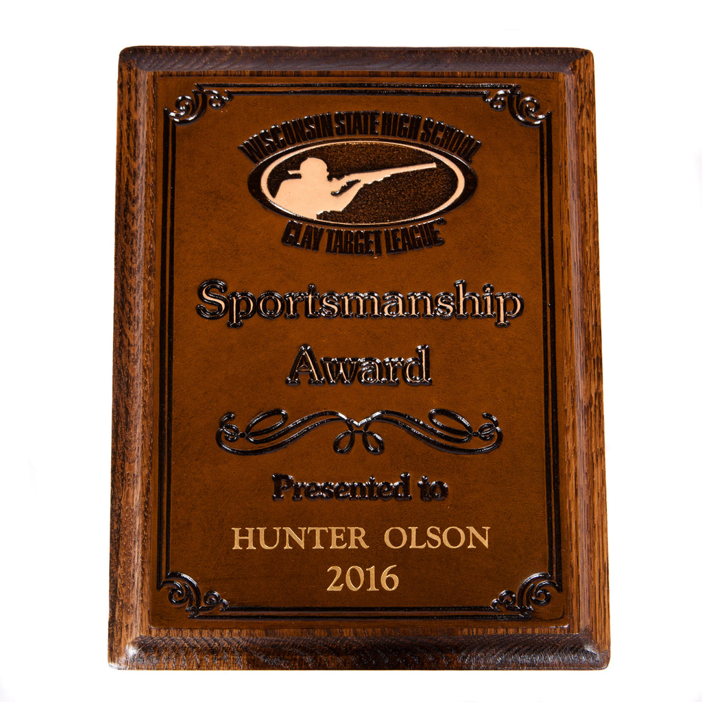 Sportsmanship Plaque