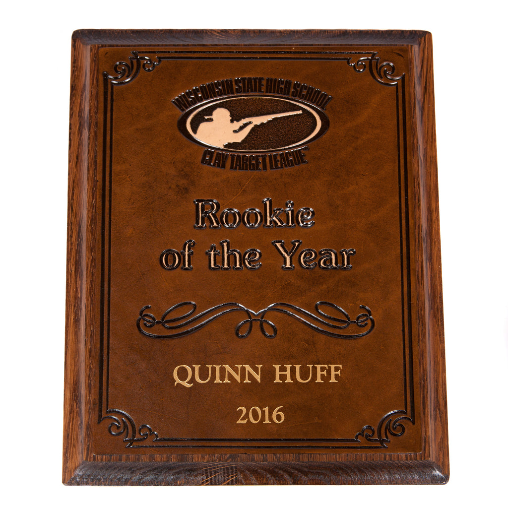 Rookie of the Year Plaque
