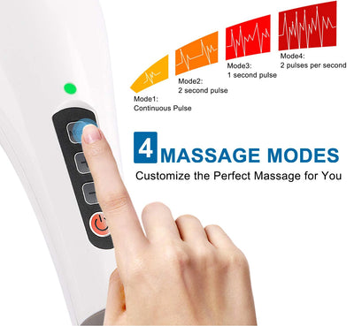 5-Interchangeable Node Wireless Massager
