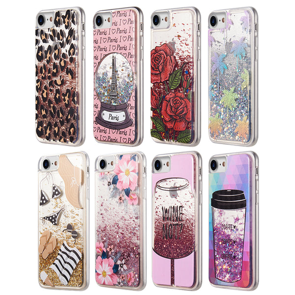 Ratchet Mobile Liquid Sparkling Quicksand Glitter Design For Apple iPhone 6s/7/8/SE - ratchetmobile | Phone cases for Apple iPhone 11 pro, Apple iPhone pro max and phone accessories