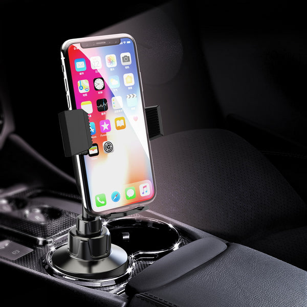 Ratchet Mobile Universal Aluminum Pole Cup Holder Car Mount Up 7 inch Screen - ratchetmobile