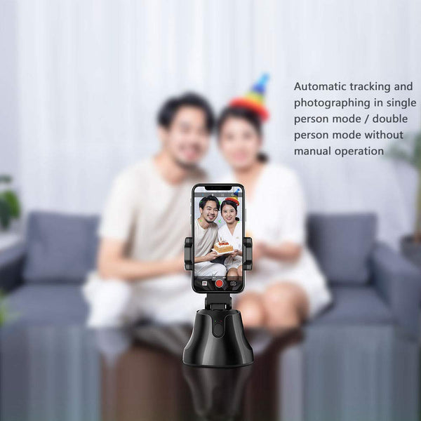 The Selfie Genius - Universal Smart Phone Face Tracking Gimbal Selfie Mount - ratchetmobile | Phone cases for Apple iPhone 11 pro, Apple iPhone pro max and phone accessories