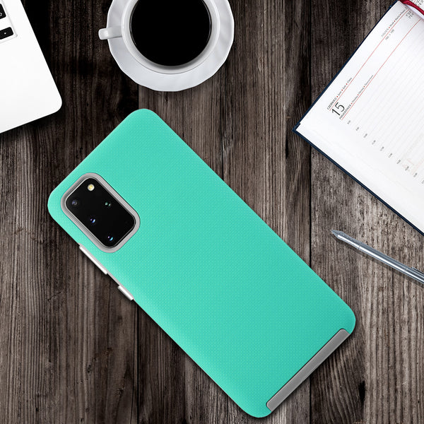 "Samsung Galaxy S20 Plus 6.7"" Screen Slim Ez-Grip Matte Anti Slip Hybrid Case - ratchetmobile 
