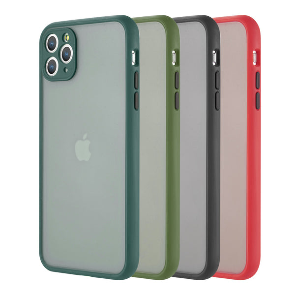 Frosted PC Phone Case w/ Lens Protection For iPhone 11 PRO - ratchetmobile