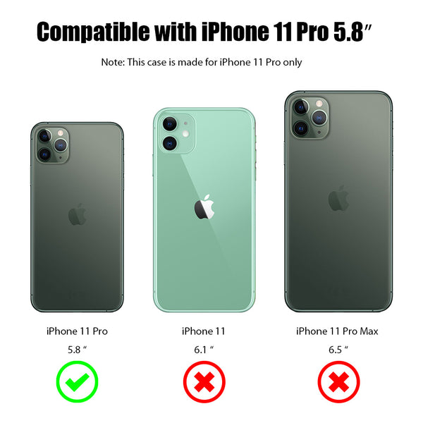 Frosted PC Phone Case w/ Lens Protection For iPhone 11 PRO - ratchetmobile | Phone cases for Apple iPhone 11 pro, Apple iPhone pro max and phone accessories