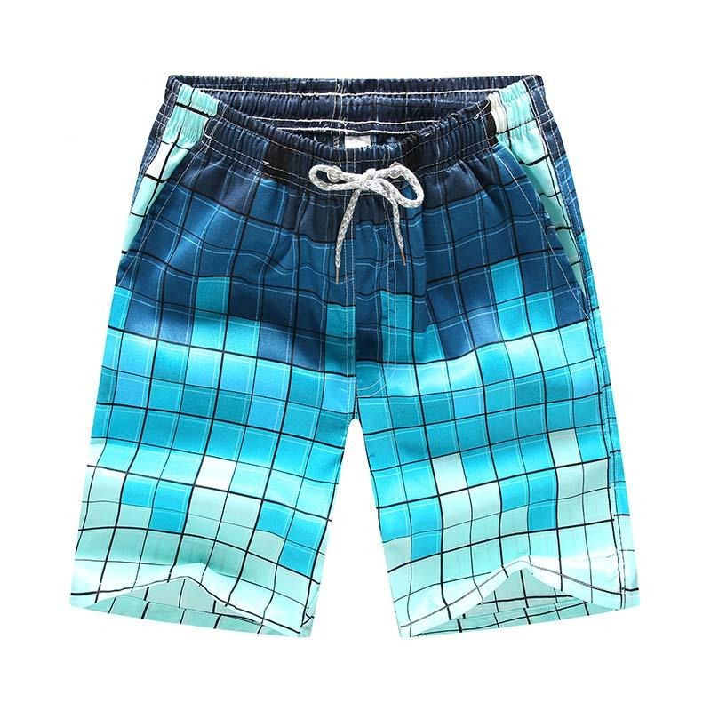 Fancy new couple casual beach pants swimming trunks large size men and women quick-drying and breathable shorts