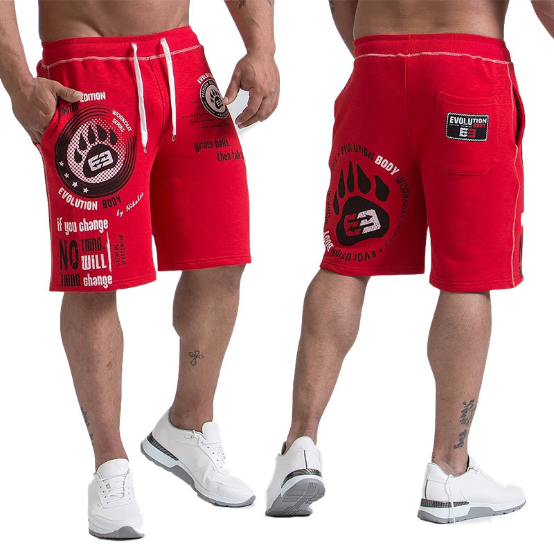 Calf-Length Summer Shorts Fitness Bodybuilding Casual Joggers Workout Sportswear