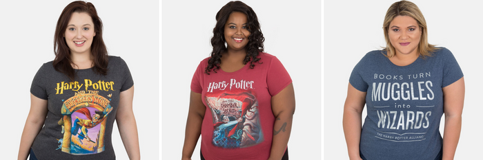5 Magical Plus Size Harry Potter Shirts You'll Love To Wear