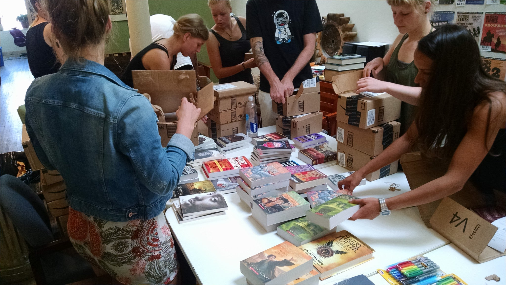 Liberation Library - packing