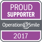 Operation Smile Proud Supporter Badge