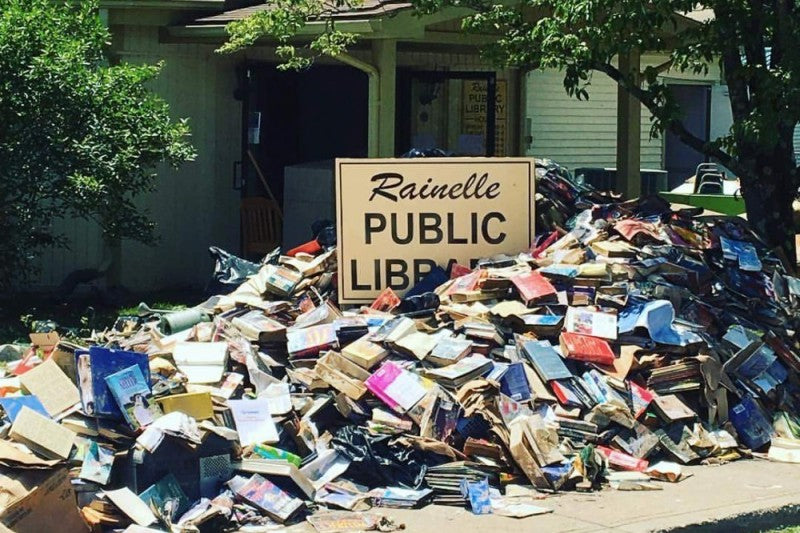 Rainelle Public Library in West Virginia