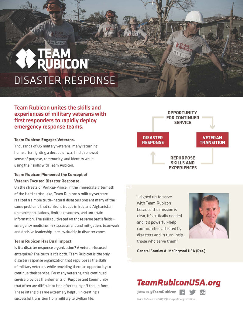 Team Rubicon - General Info - page 1