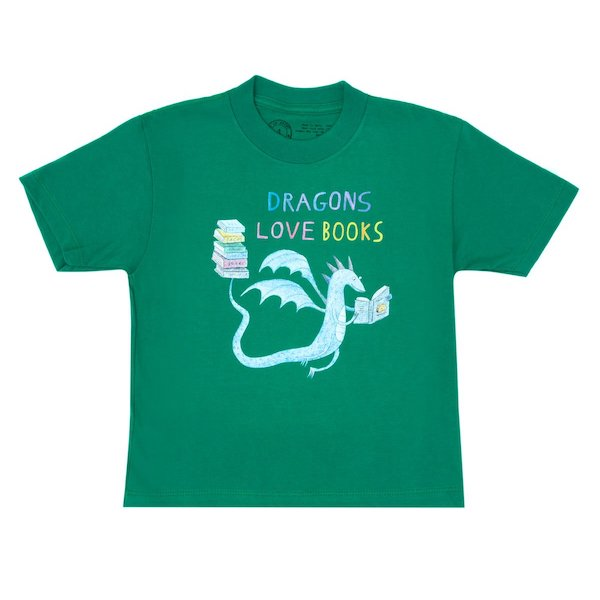 dragons love books shirt