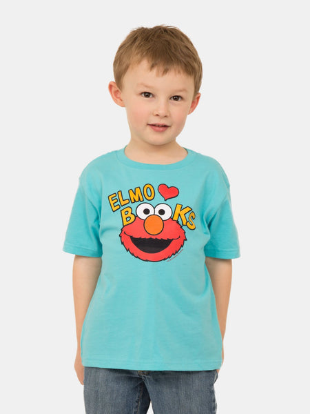 elmo reading shirt