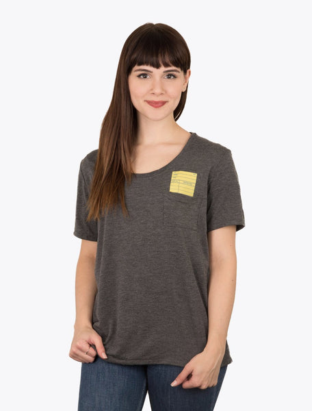 library card pocket shirt