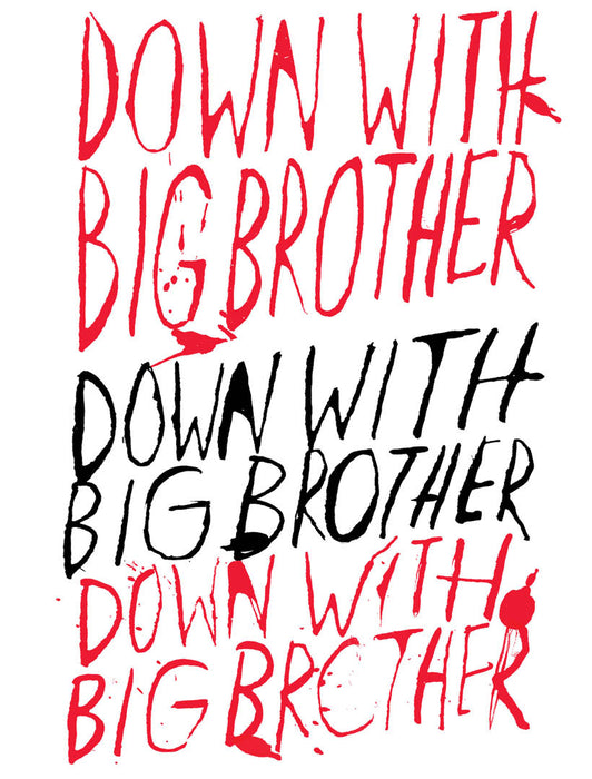 Down with Big Brother (1984) Unisex T-shirt