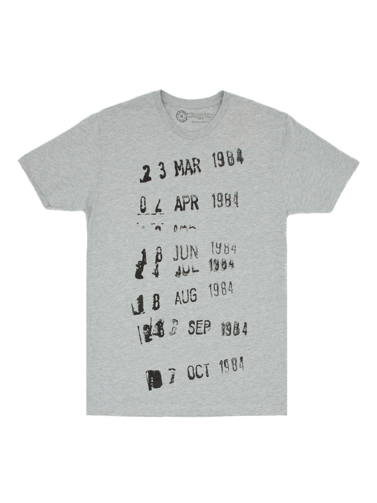 Library Stamp (Gray) Unisex T-Shirt