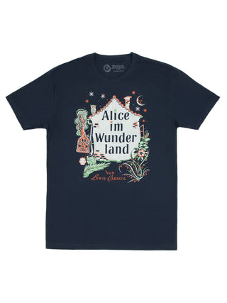 Alice in Wonderland (German Edition) Unisex T-Shirt