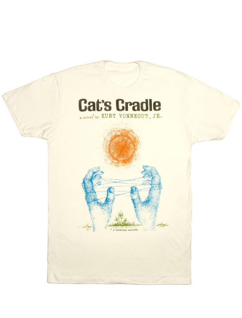 cat 39 s cradle men 39 s book t shirt out of print. Black Bedroom Furniture Sets. Home Design Ideas