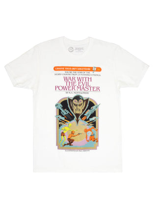 Choose Your Own Adventure: War with the Evil Power Master Unisex T-Shirt