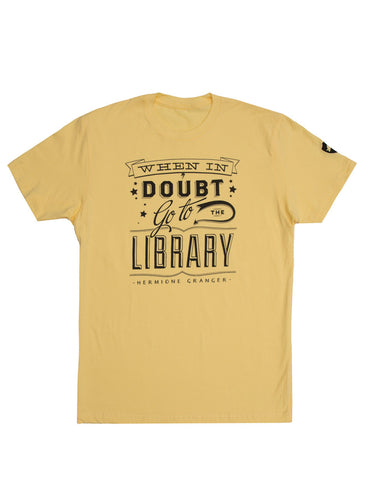 When in Doubt (Hufflepuff) Unisex T-Shirt