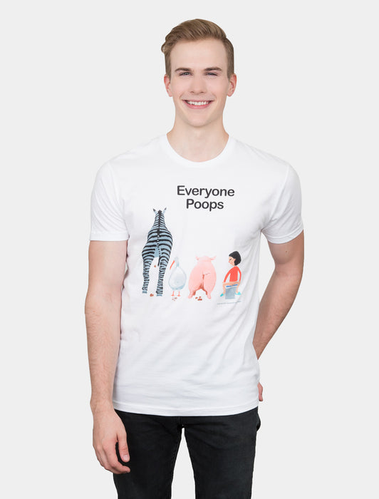 Everyone Poops Unisex T-Shirt