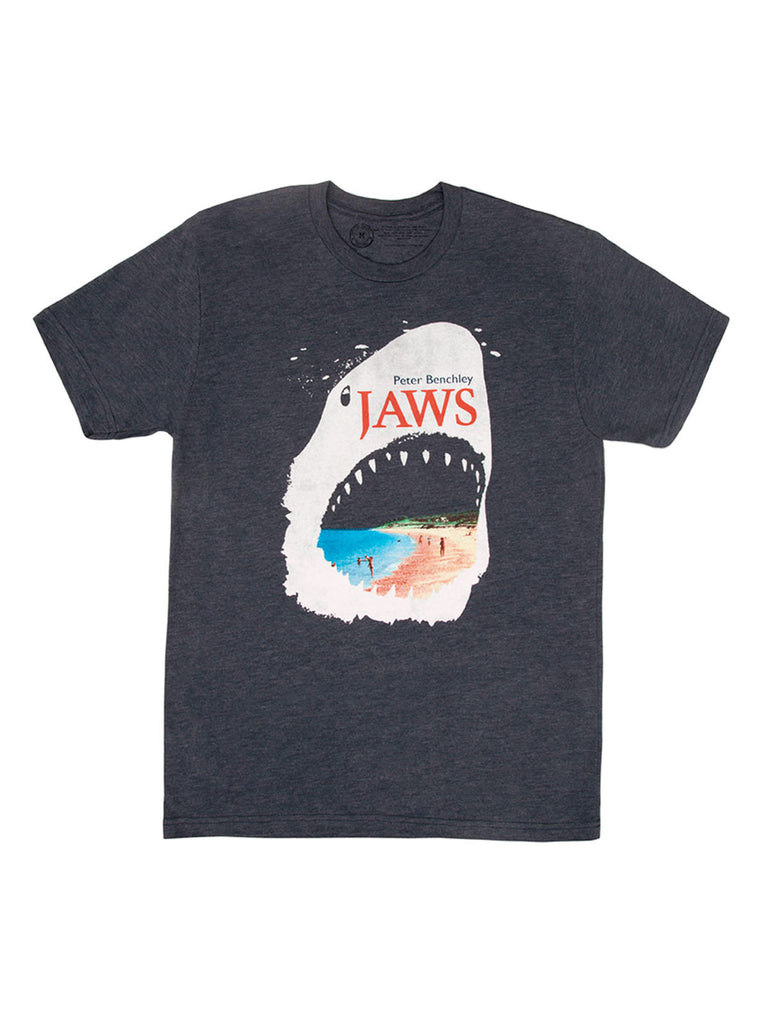 Jaws Unisex Book T Shirt Out Of Print