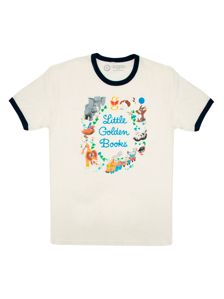Little Golden Books Unisex Ringer T-Shirt