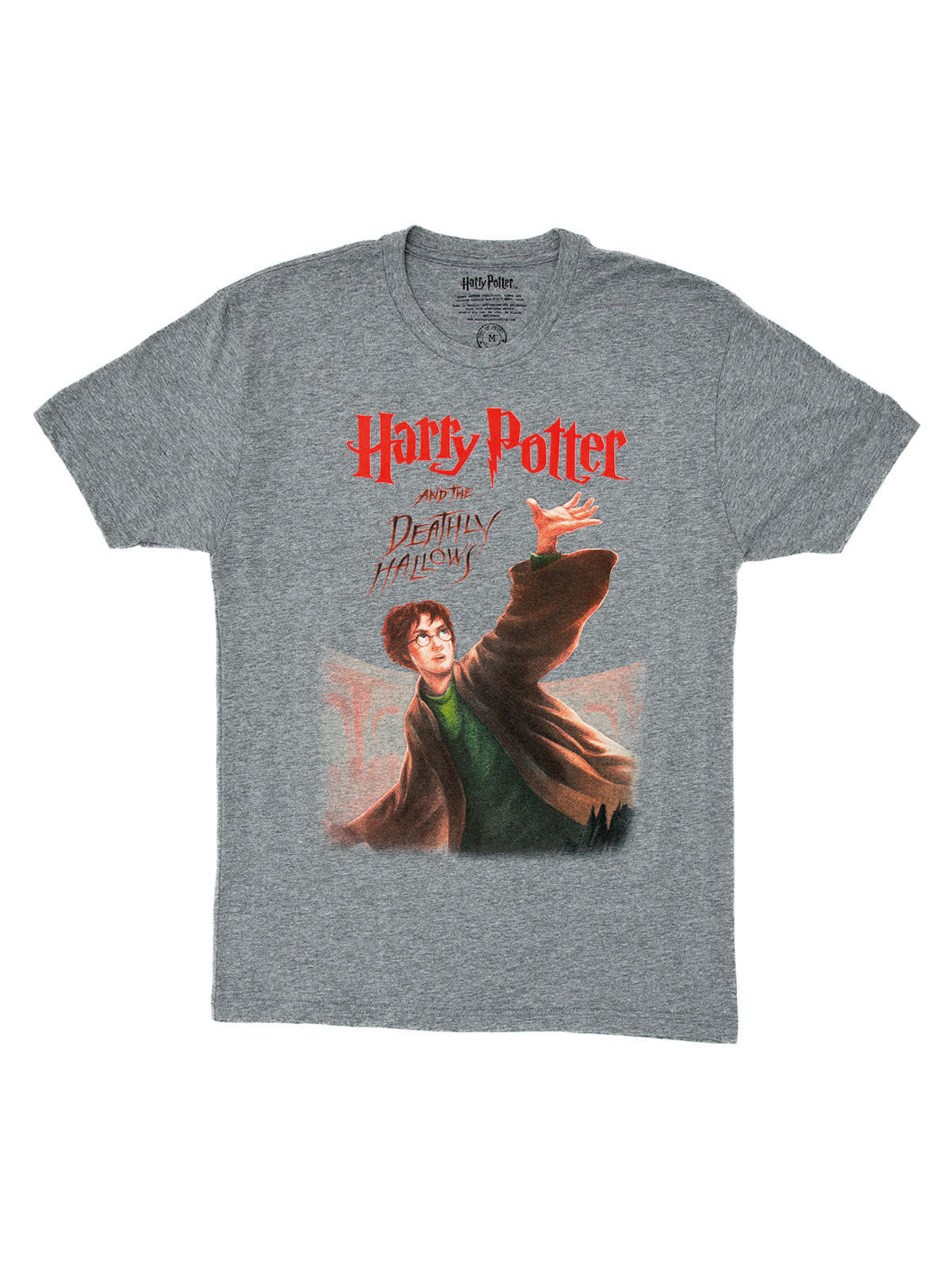Spreadshirt Harry Potter The Deathly Hallows Teenagers Longsleeve Shirt