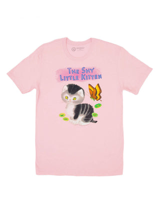 The Shy Little Kitten Unisex T-Shirt