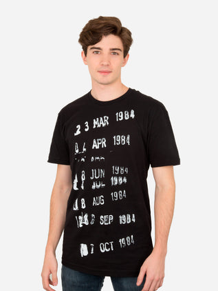 Library Stamp (Black) Unisex T-Shirt