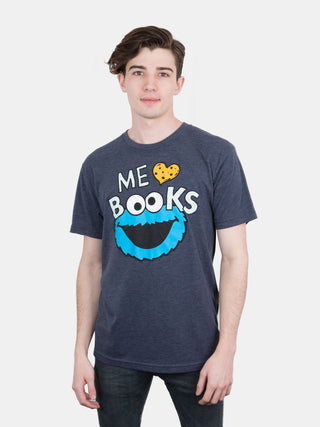 Cookie Monster - Me Love Books Unisex T-Shirt