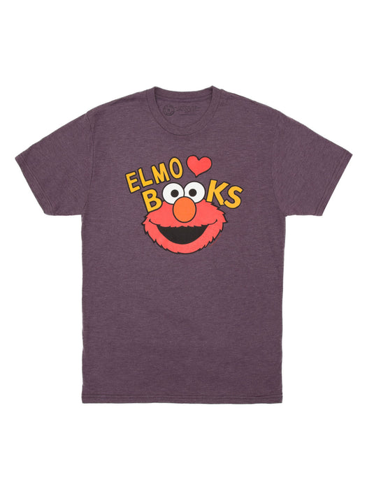 Elmo Loves Books Unisex T-Shirt