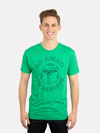 Oscar the Grouch - Go Away I'm Reading Unisex T-Shirt