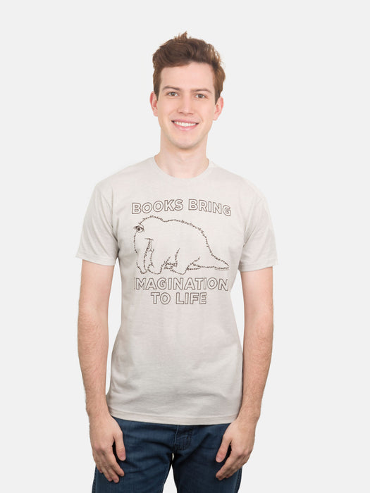 Snuffy - Books Bring Imagination to Life Unisex T-Shirt
