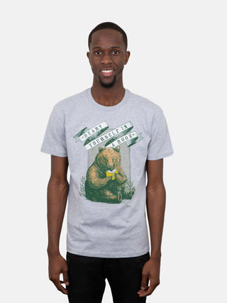 Beary Yourself in a Book Unisex T-Shirt