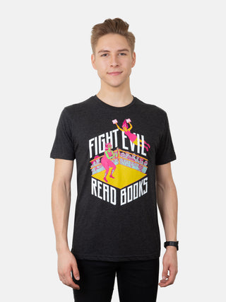 Fight Evil, Read Books Unisex T-Shirt (2019)