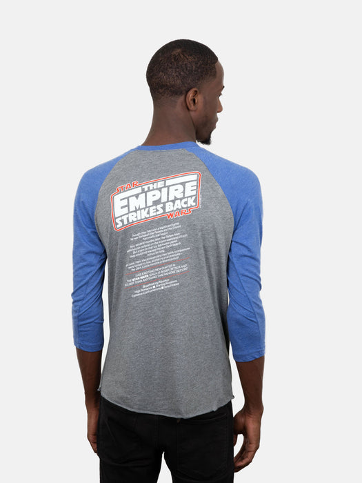 Star Wars: The Empire Strikes Back Unisex 3/4-Sleeve Raglan
