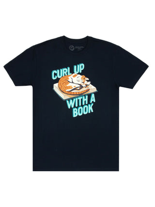 Curl Up with a Book Unisex T-Shirt